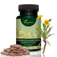 TARASSACO Vegavero® | ESTRATTO 10:1 di radice | Depurativo, Diuretico e Drenante Naturale | Senza Magnesio Stearato | 120 capsule | Vegan