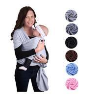 Zogin Fascia elastica porta bebè, per neonati e bambini 0–18mesi, 3–12kg