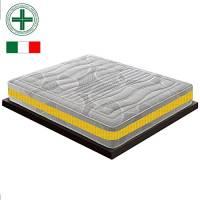 Materassiedoghe - Materasso in Memory a 11 Zone Differenziate mod. Eolie MyMemory Ortopedico Certificato Presidio Medico Classe I CON DETRAZIONE FISCALE (80x190)