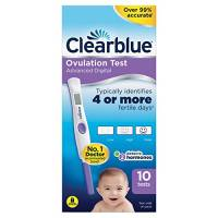 Test ovulazione Clearblue Advanced Digital Ovulation Test--Pack of 10 Sticks