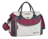 Babymoov A043510 - Borsa cambio Babystyle Baby Chic, colore: Rosso/pois