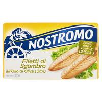 Nostromo Filetti di Sgombro all'Olio di Oliva - 120 gr