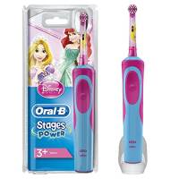 Oral-B Stages Spazzolino Elettrico per Bambini con Principesse Disney