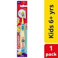 Colgate - Spazzolino da denti manuale Smiles, per bambini dai 5 anni, modello casuale