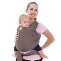 Elastico Baby Wrap All in 1 per bambini - Marsupio - Porta per neonati - Baby Wrap (Grigio Rame)