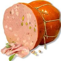 Mortadella di Maialino Nero con Pistacchio | 4 Kg | Macelleria Longo | Gluten Free | Altissima Qualità Artigianale | Eccellenza della Campania | Ideale per Pranzi Cene e Cenoni | Idea Regalo