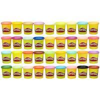 Hasbro Play-Doh- Play-Doh Mega Pack da 36 Vasetti, 36834F02