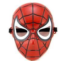 Inception Pro Infinite Bambino- Travestimento - Maschera per Costume - Spiderman - Carnevale - Uomo Ragno - Rosso - Super Eroe - Halloween - 5-8 Anni