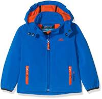 Trespass Swamp, Giacca Softshell Outdoor Bambino, Blu, 3/4